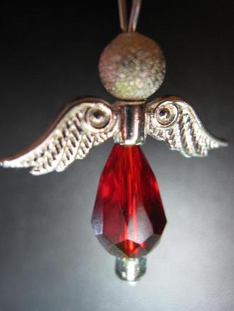 Red angel - Fiona