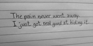 handel the pain