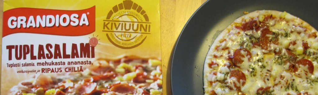 Grandiosa Pizza Tupplasalami